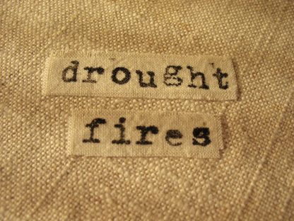 Climate Crisis: Drought/Fires (inside text), Nan Genger