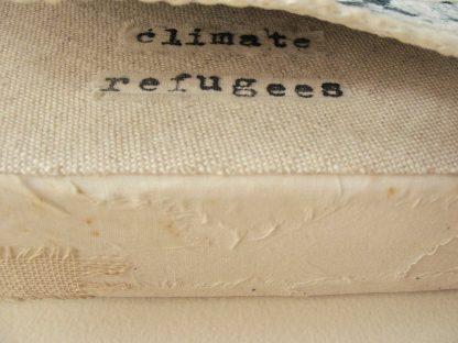 Climate Crisis: Refugees (top detail), 8x8, nan genger