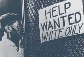 Jim Crow Help Wanted Sign