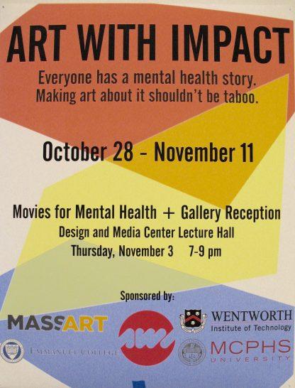 Art With Impact, MassArt exhibit 2016