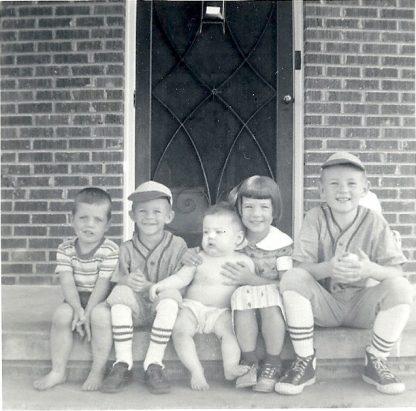 1955 Genger Children, Nan Genger