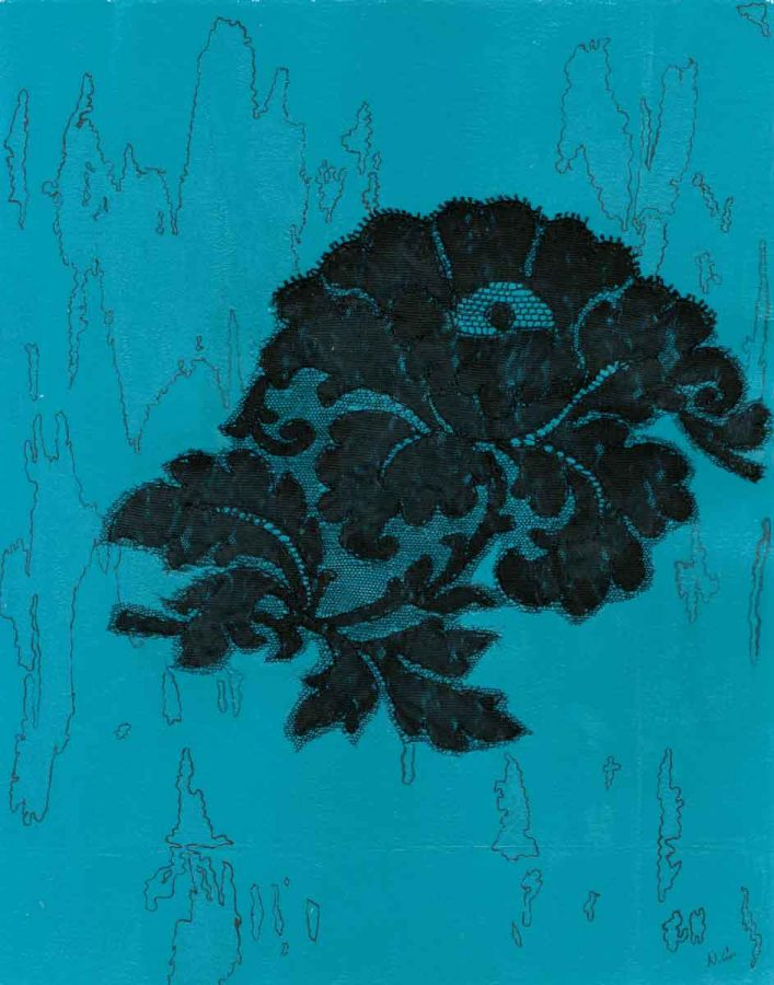 69/100: The Black Rose, Nan Genger, 2016