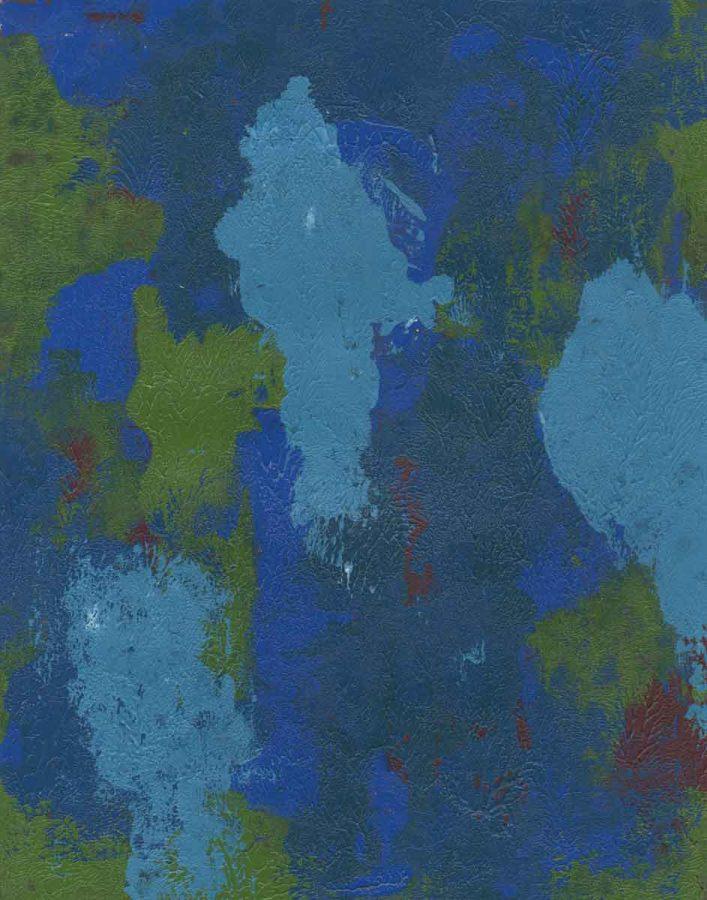 81/100: Blue Ghosts, Nan Genger, 2016