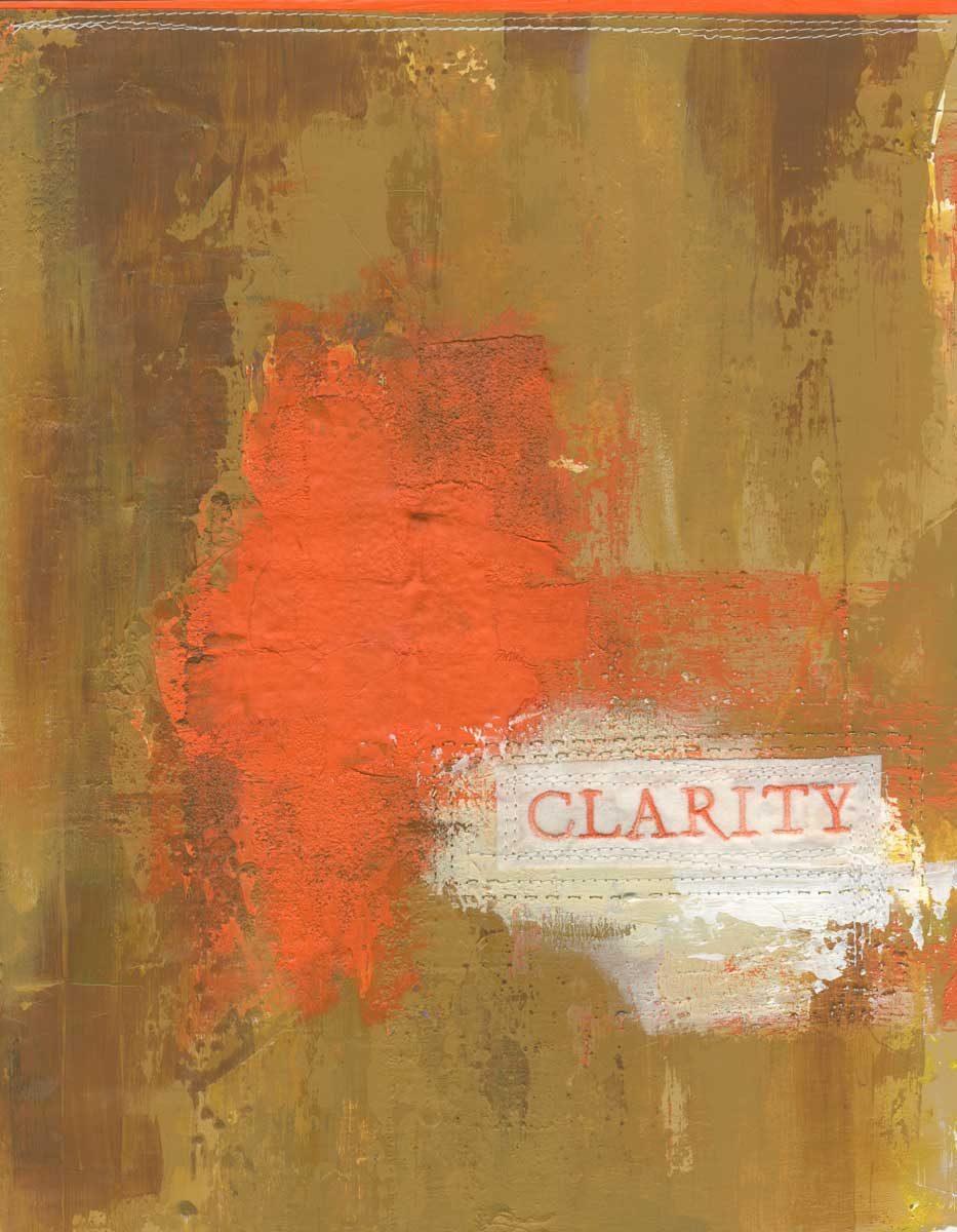Clarity, Nan Genger, 2016