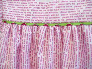 "Ladybug Dress, 14"" x 16,"" Nan Genger, 2016"