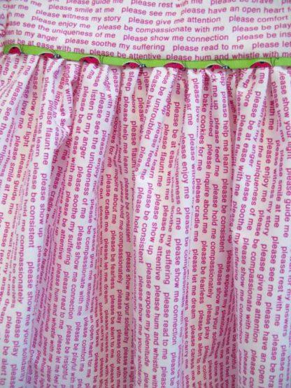 "Ladybug Dress (front detail), 14"" x 16,"" Nan Genger"
