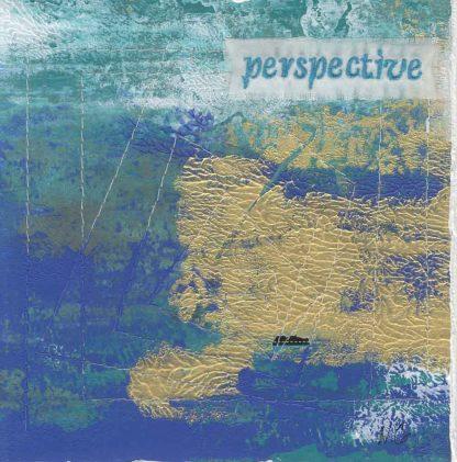 "perspective, 6"" x 6"" x ¾,"" Nan Genger, 2016"