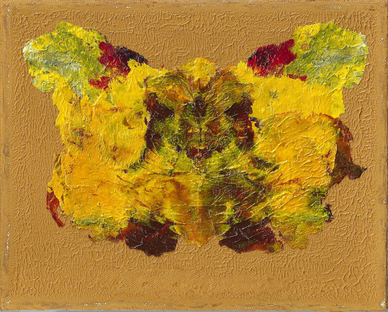 "Transformation Yellow#2, Nan Genger 8"" x 10"" x ⅞"" deep"